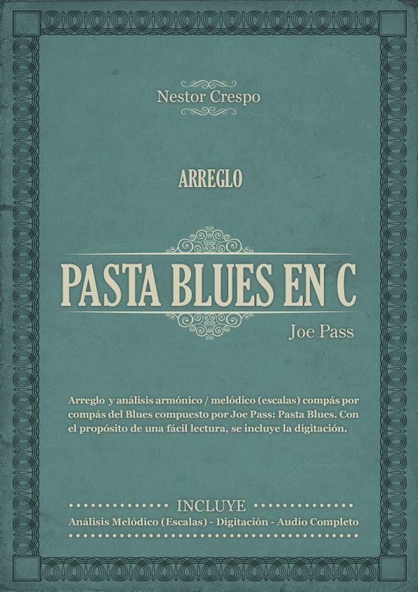 GUITARRA / Joe Pass  - Arreglo sobre Pasta Blues -  (Chord Melody)