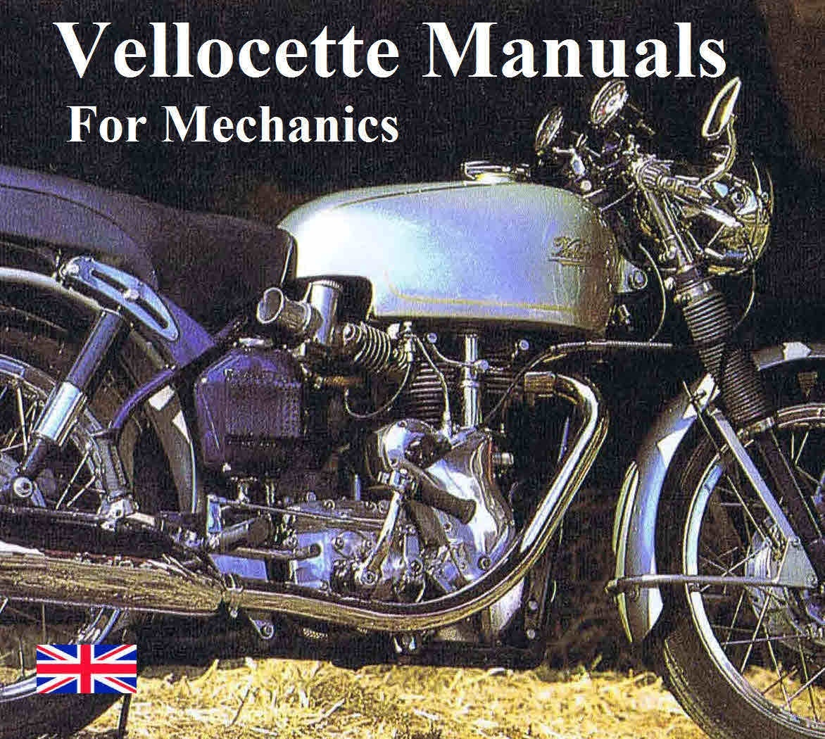 Vintage motorcycle manuals for mechanics velocette vintage motorcycle manuals for mechanics asfbconference2016 Choice Image