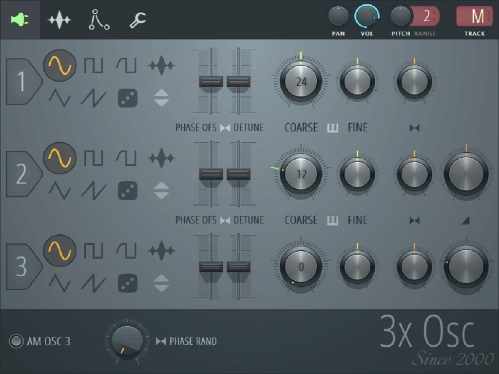 3x Osc Soundpack