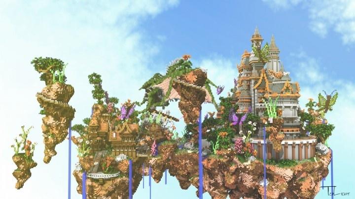 Fantasy Skyblock Spawn