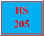 HS 205 Entire Course
