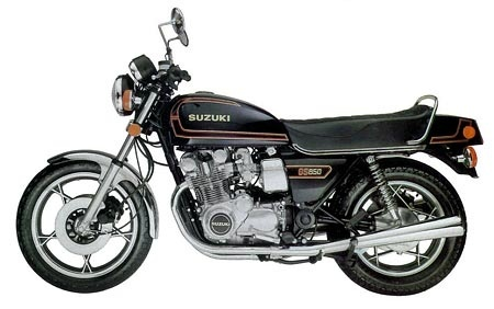SUZUKI GS850G MOTORCYCLE SERVICE REPAIR MANUAL 1979-1983 DOWNLOAD