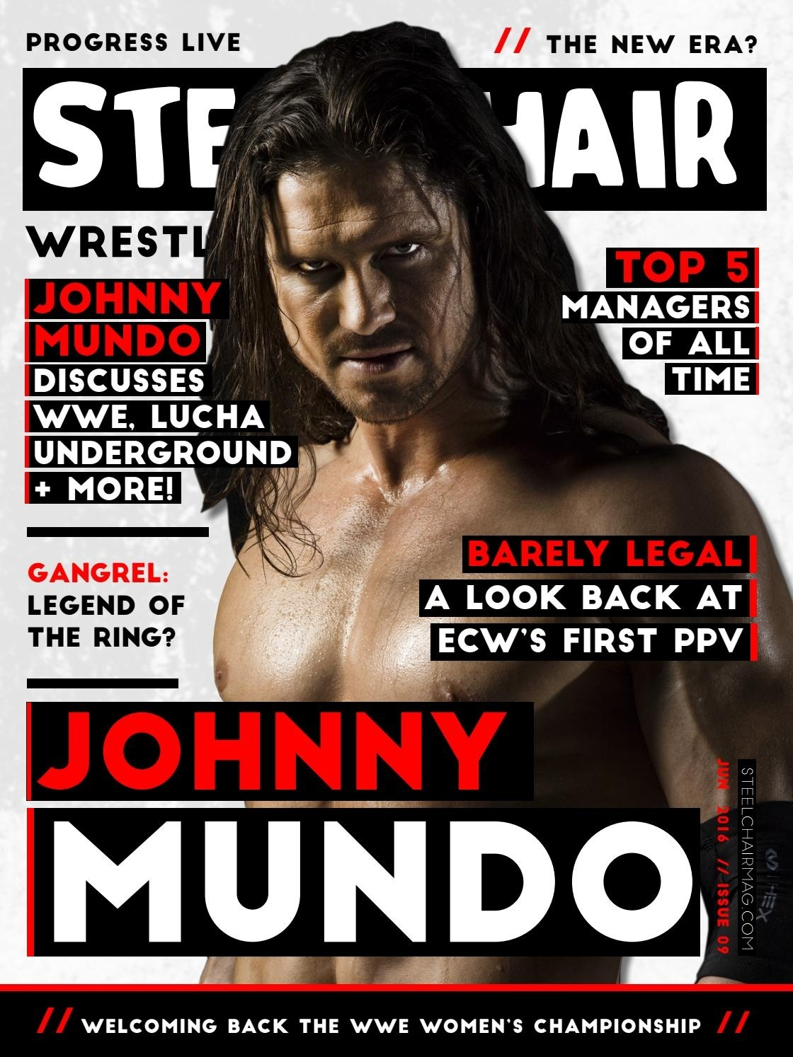 SteelChair Wrestling Magazine #9