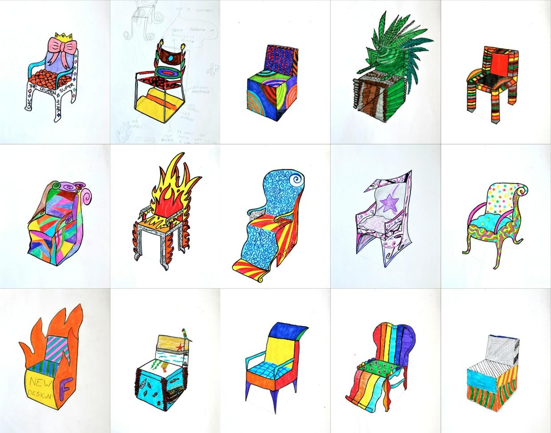 Progetta una sedia: foglio di lavoro