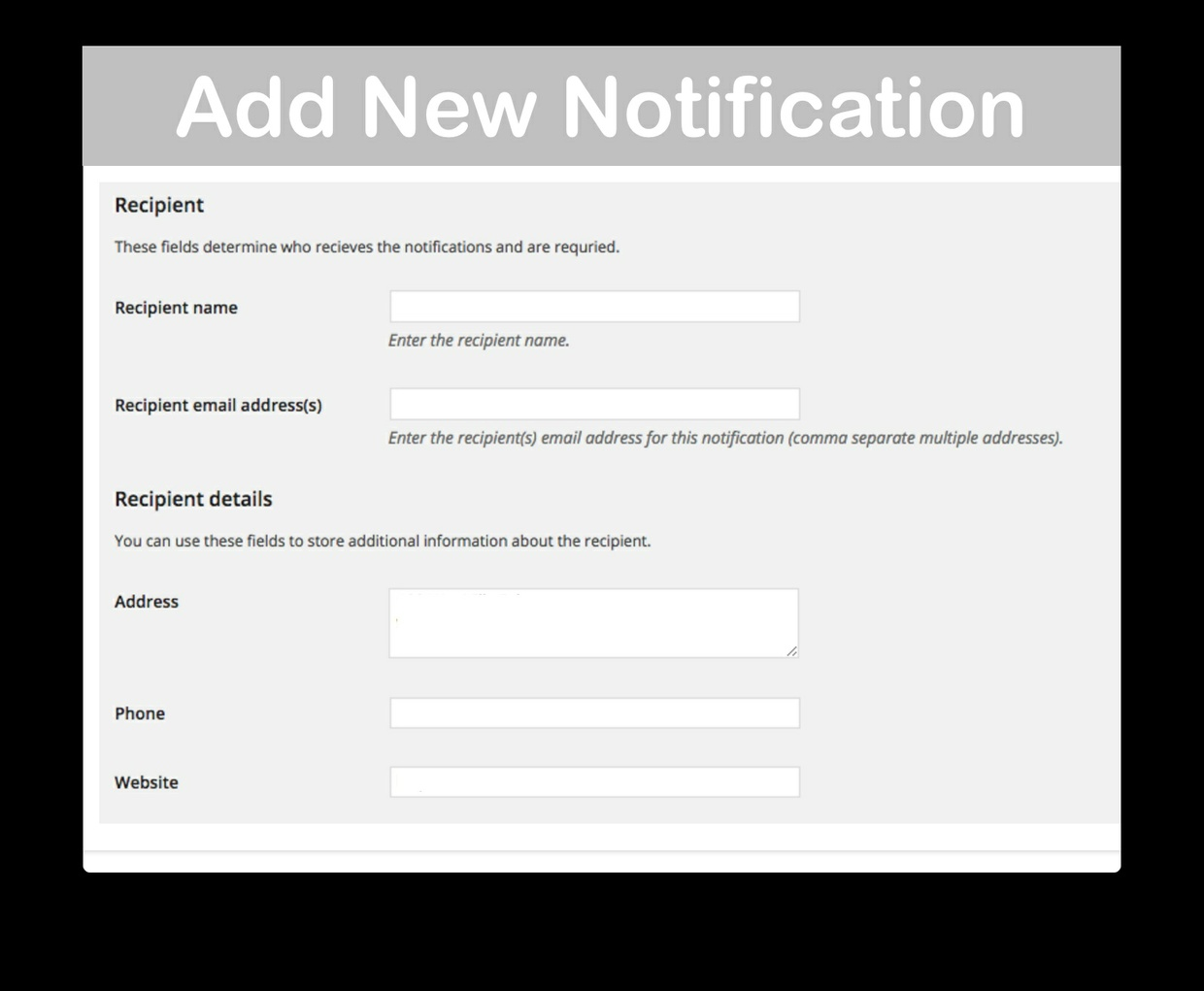 WooCommerce Advanced Notifications 1.2.12 Extension