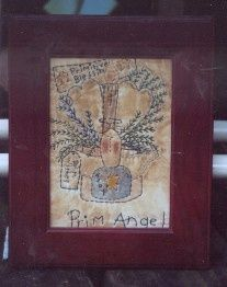 #367 Prim Angel Stitchery E Pattern