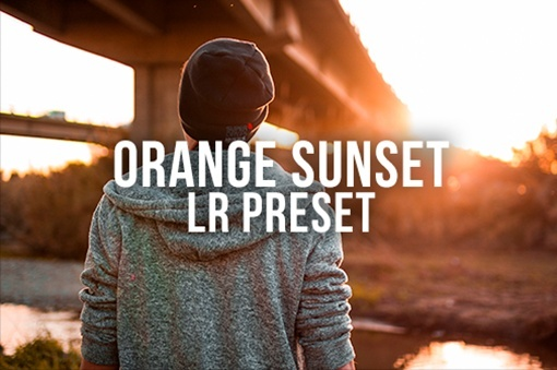 Orange/Blue Sunset LR Preset