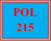 POL 215 Week 5 Multiple Governments and Intergovernmental Relationships