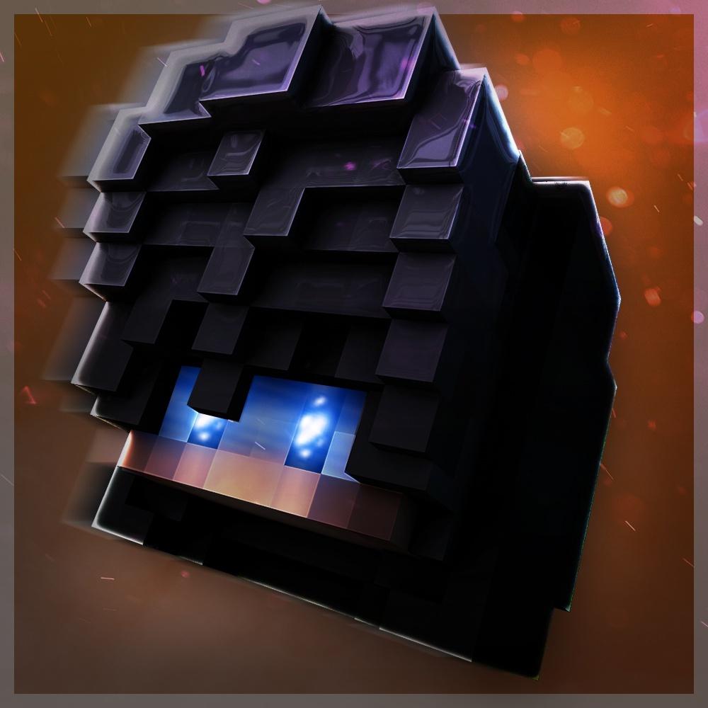 Minecraft logo FlyHead