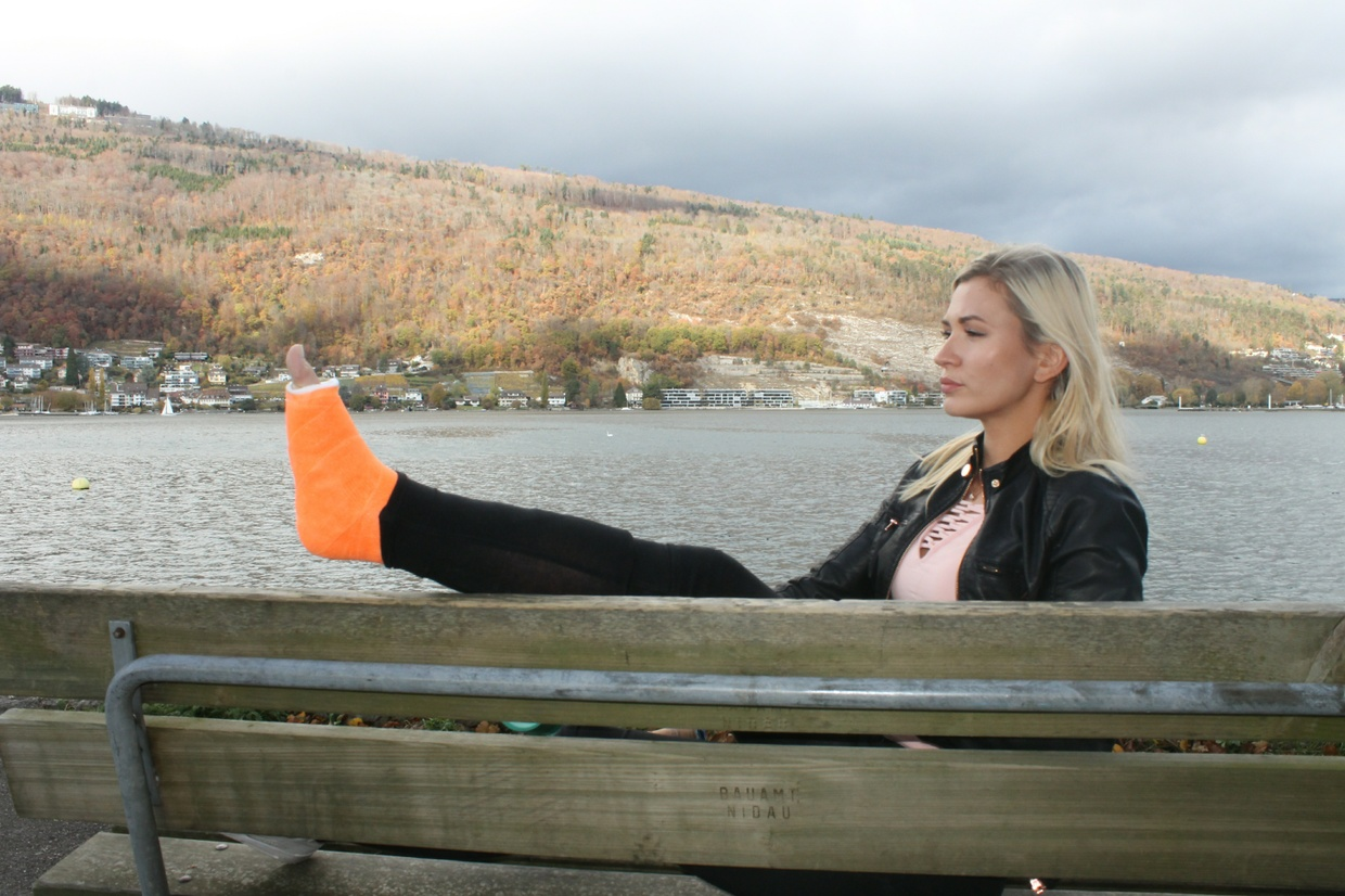 Tracy mit SLC am See