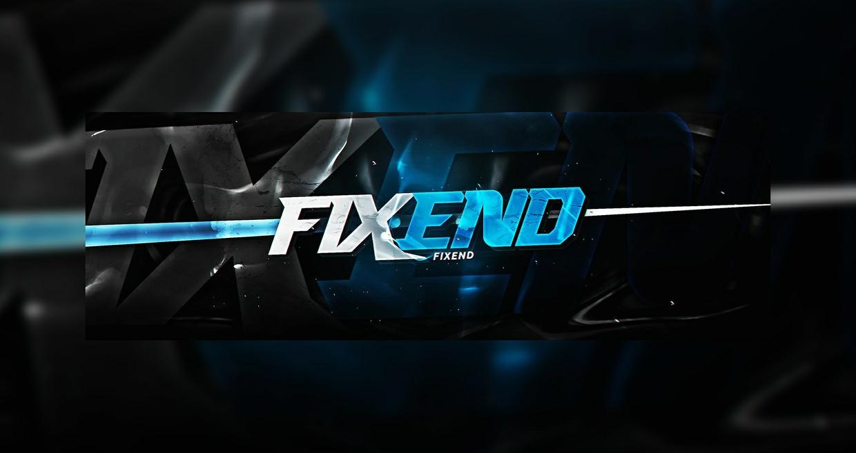 Fixend Header PSD