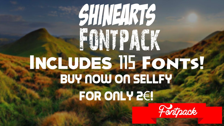 ShineArts Fontpack