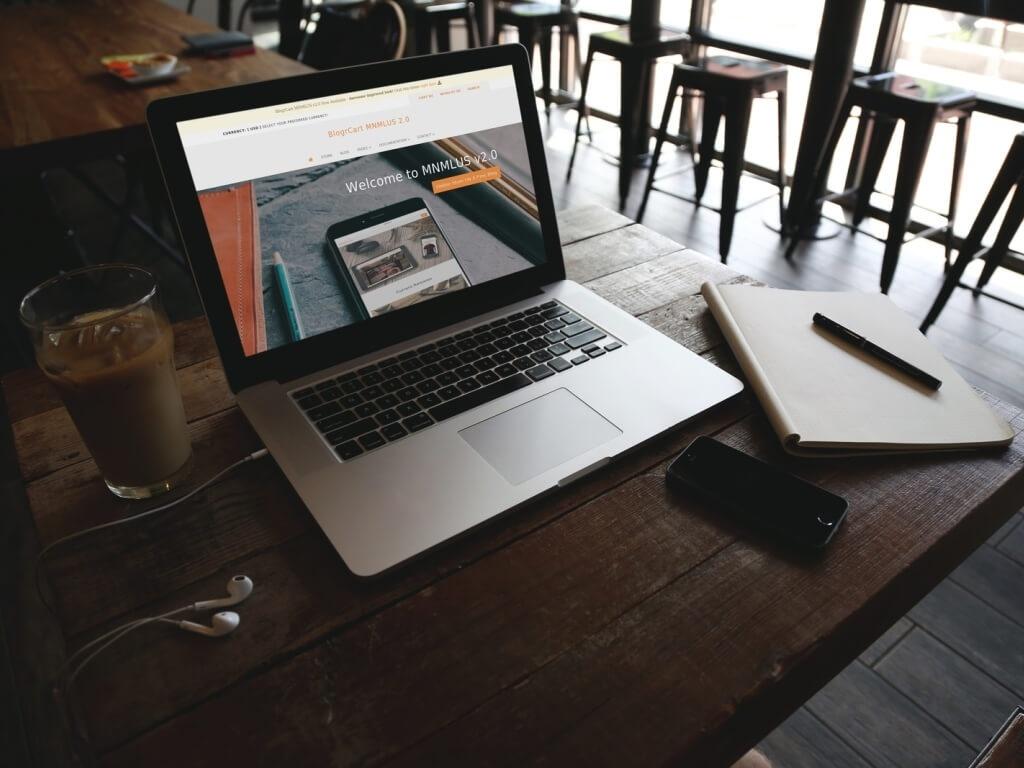 BlogrCart  MNMLUS (v2.0) Free Premade Responsive Blogger Blog & Store Theme/Template
