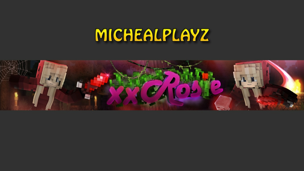 Minecraft Banner (Channel Art)