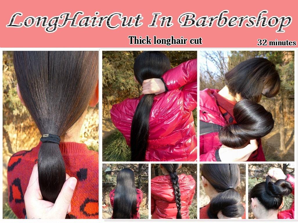 thick longhair cut