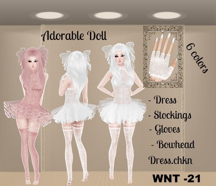 WNT -21 Bundle  Adorable Doll