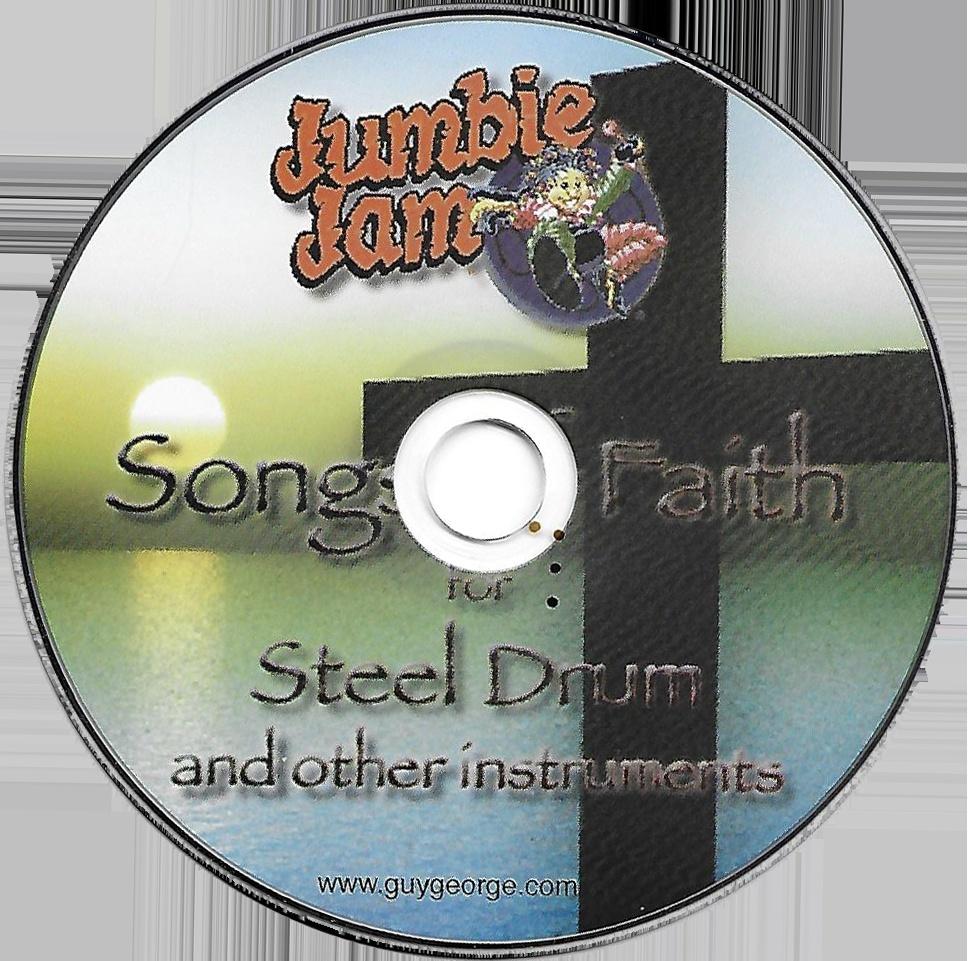 Jumbie Jam Series Songs Of Faith for Steel Drum