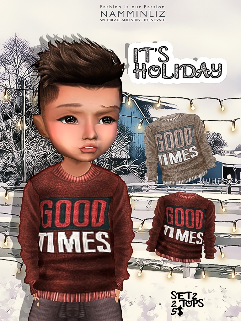 It's Holiday Set2 two tops imvu textures JPG NAMMINLIZ life sale