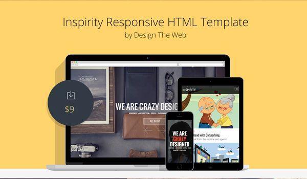 Inspirity responsive template
