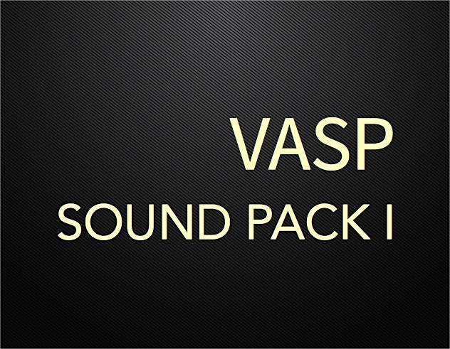VASP Sound Pack I Part I (Win 64bit Version)