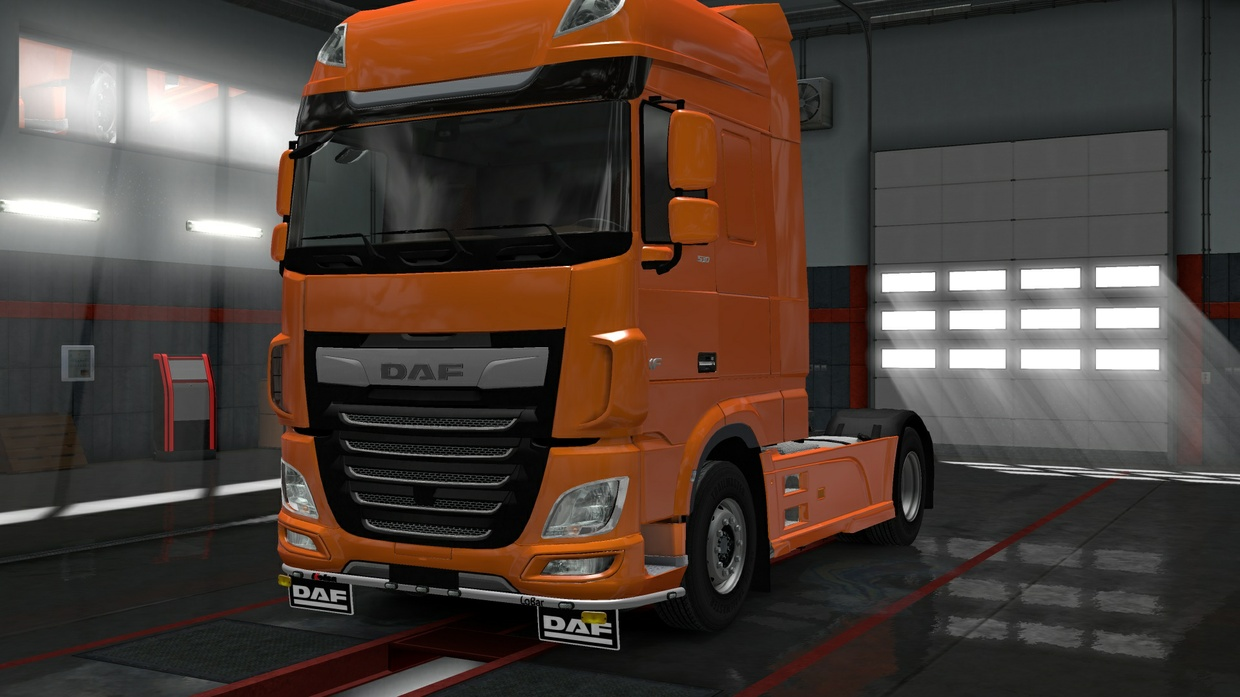 Lower Grill Guard Daf E6 By SCS