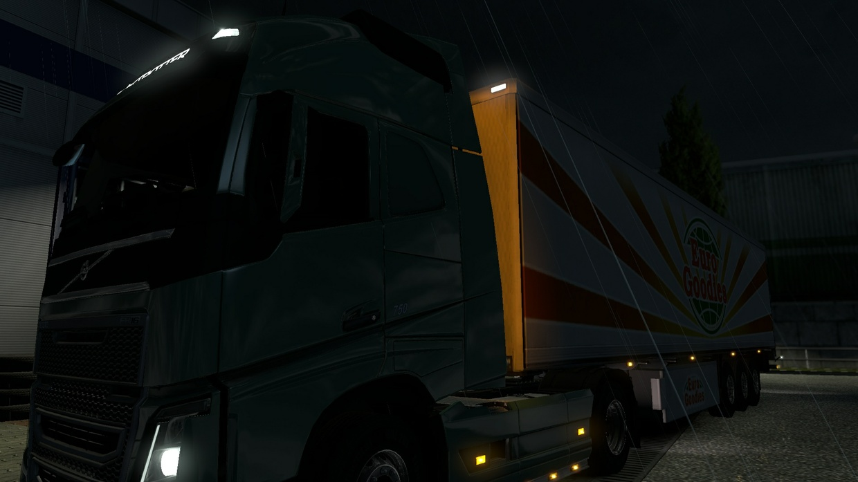 Rear Light Cabin Volvo FH12