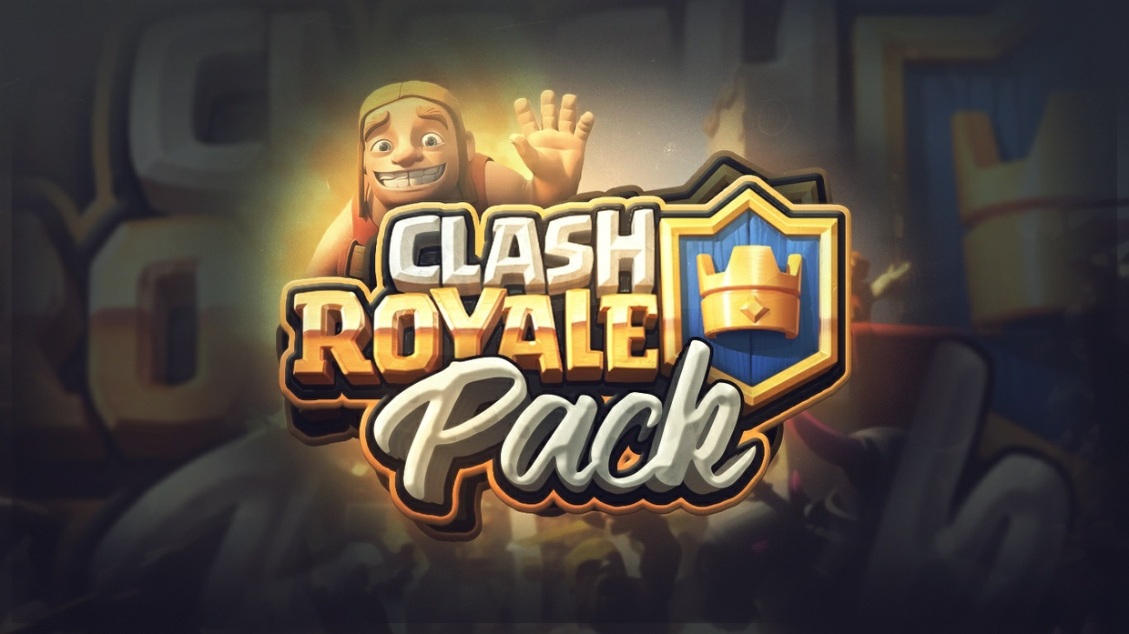 NEW CLASH ROYALE PACK +100 renders