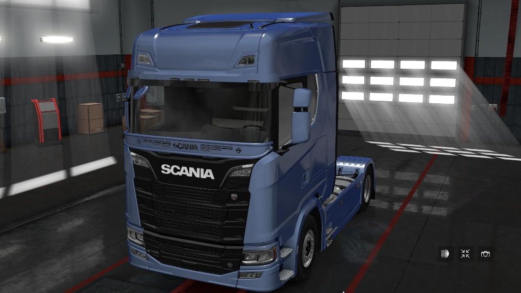 Stoneguard Scania
