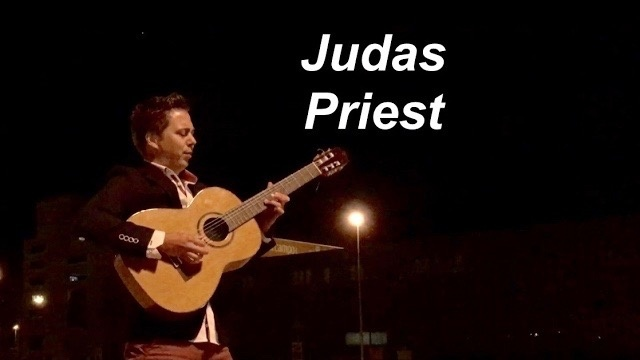 Living After Midnight (Judas Priest) - solo guitar arrangement by Thomas Zwijsen