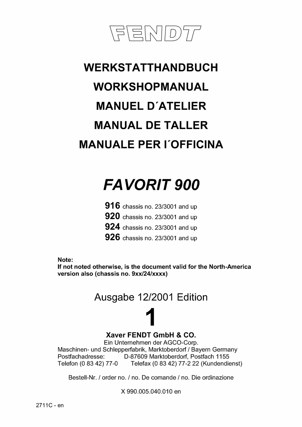 Pdf Download Fendt Favorit 900 916 920 924 926 Tractor Workshop Service Repair  Manual