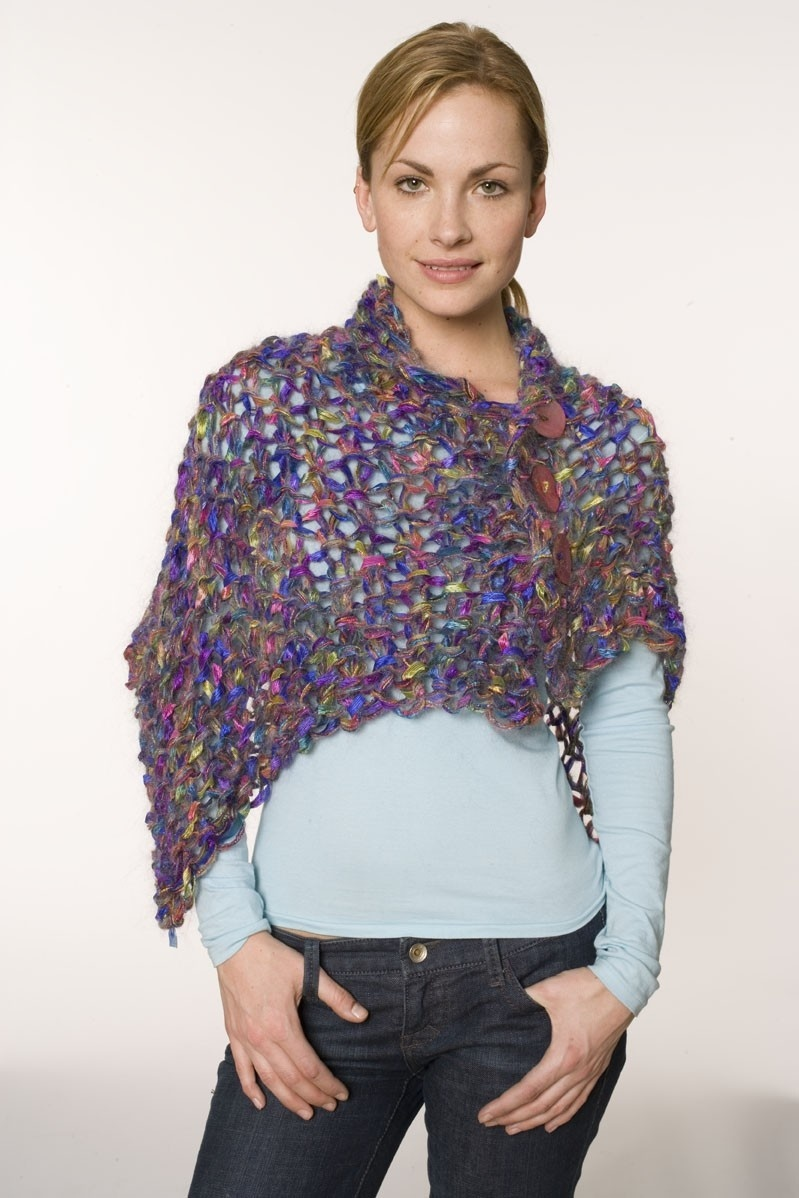 Midnight Mohair Shawl