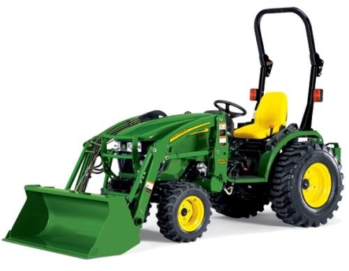 John Deere Compact Utility Tractors 2027R and 2032R Technical Service Manual (TM127119)
