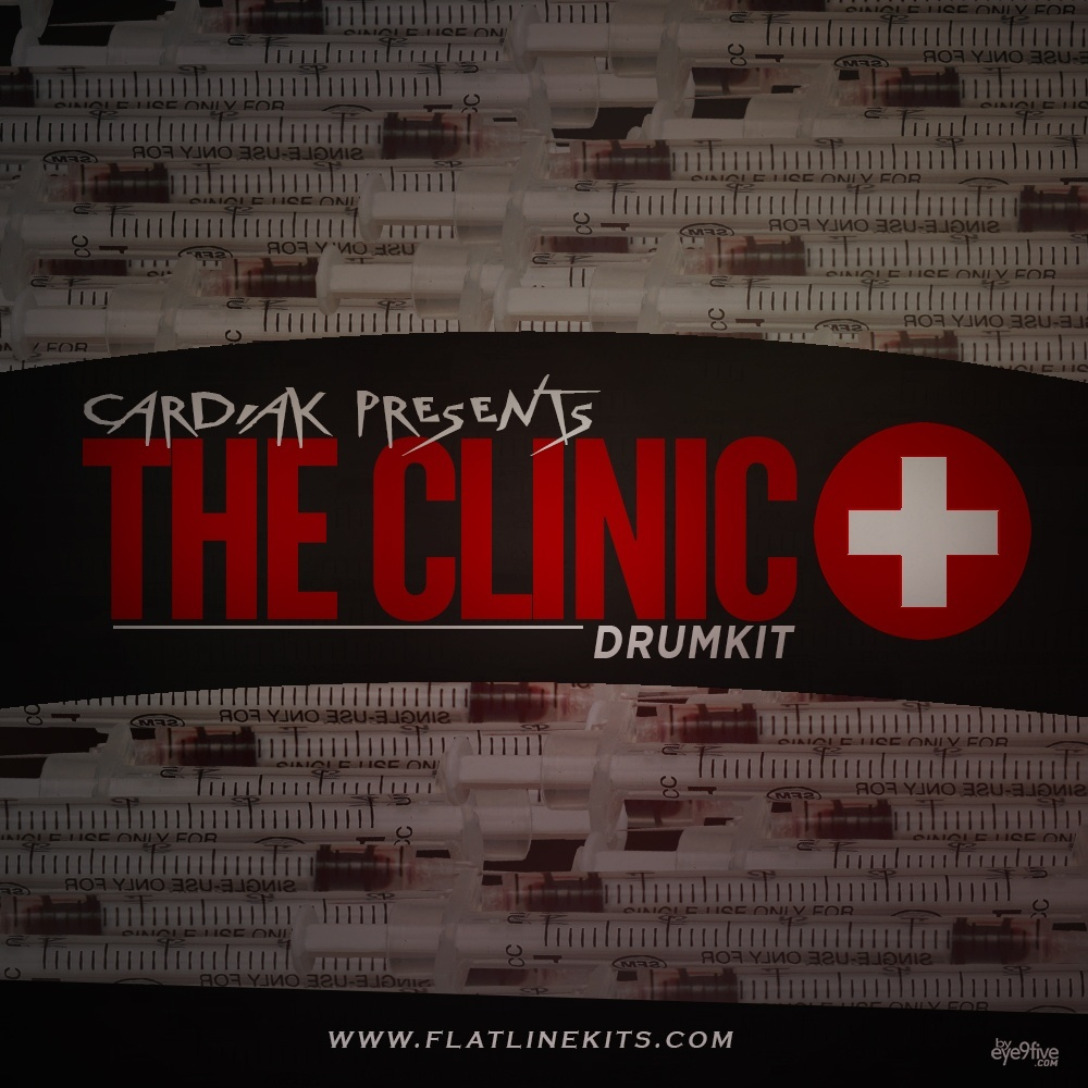 Cardiak The Clinic Drumkit