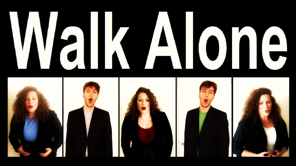 You'll Never Walk Alone (SATB + bonus S)  [audio learning tracks only]