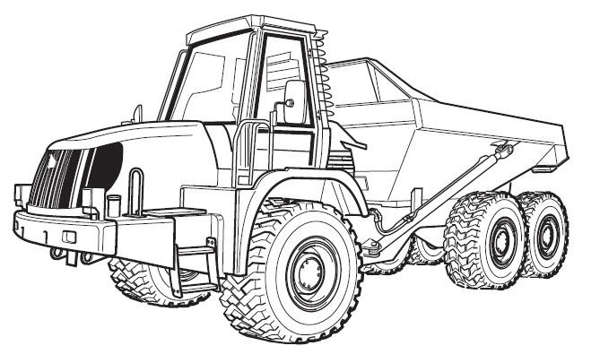 JCB Articulated Dump Truck 722 Service Repair Manual Download