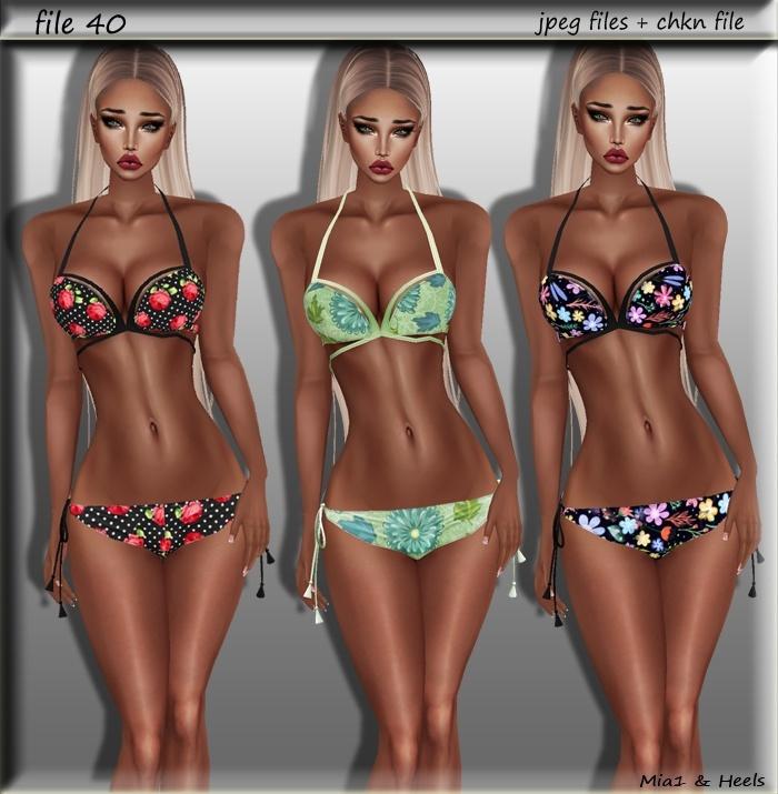 File40 ( bikini 5 styles )