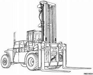 Hyster Forklift Truck E008 Series: H440FS, H550F(S), H620F(S), H650F, H700F(S) Spare Parts List EPC