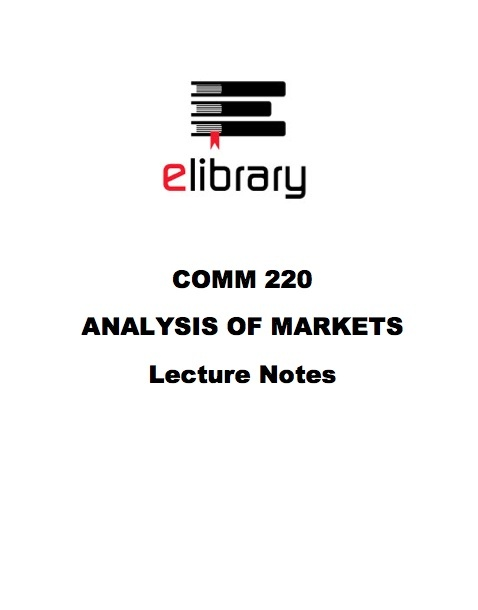 COMM 220 MIDTERMS, FINALS, & LECTURE NOTES (6 EXAMS)