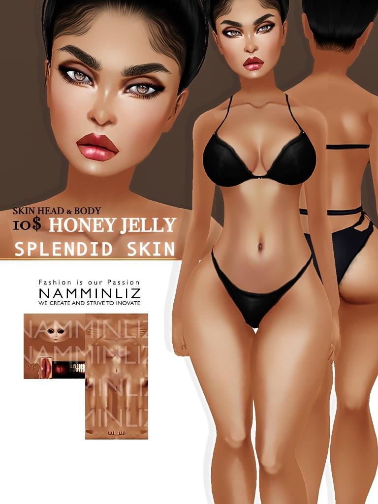 Honey Jelly Splendid Skin imvu Texture JPG