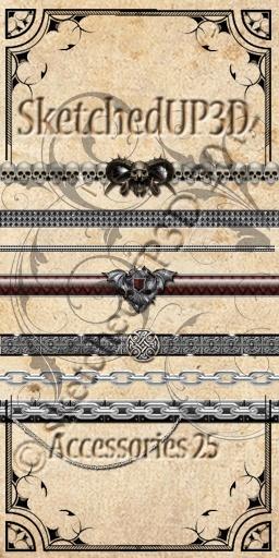 Accessories 25 - Belt Textures