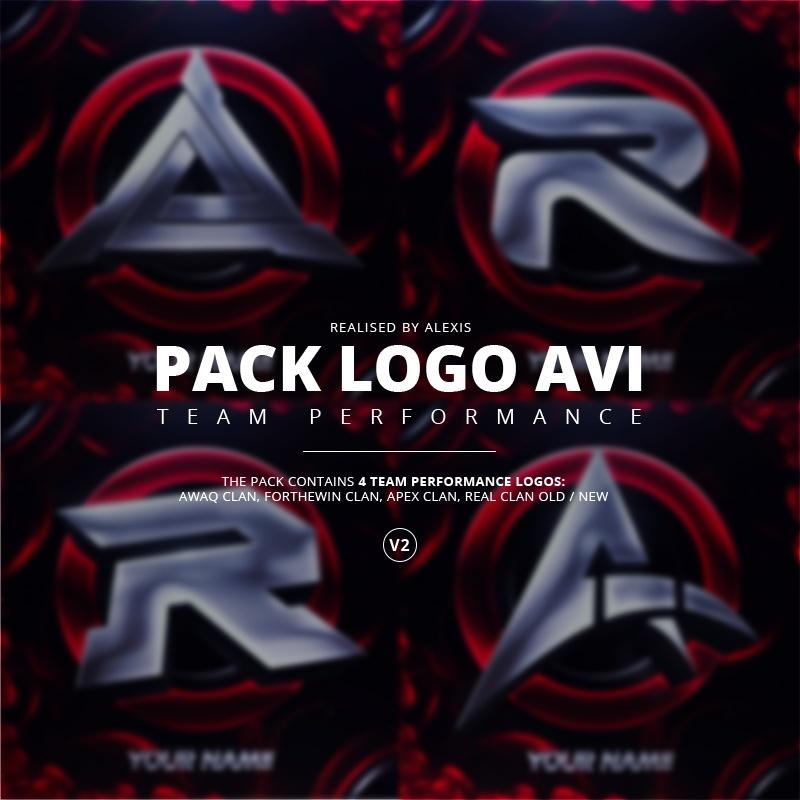 Pack Logo AVI V2 Template