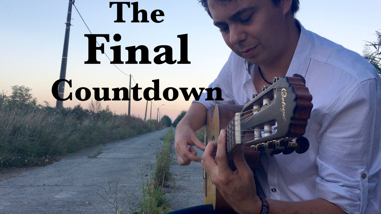 The Final Countdown (Europe) - Solo guitar arrangement by Thomas Zwijsen