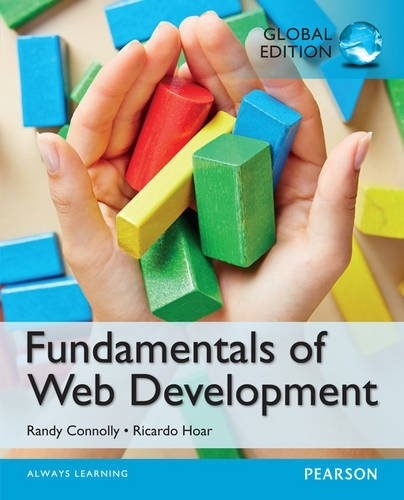Fundamentals of Web Development, Global Edition  ( PDF, Instant download )