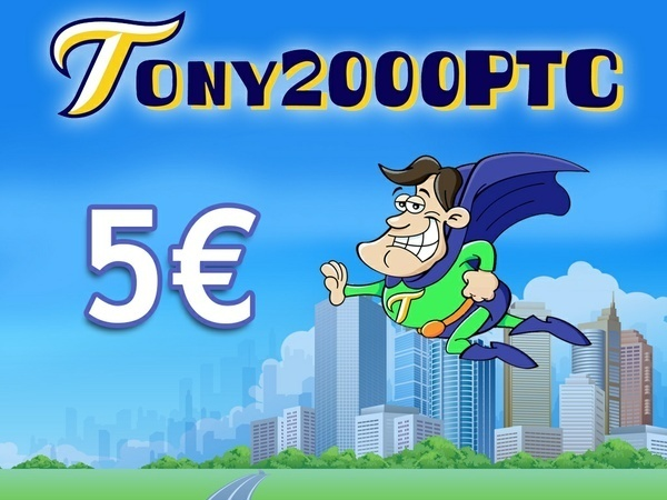 5 € di credito per Tony2000ptc + ebook