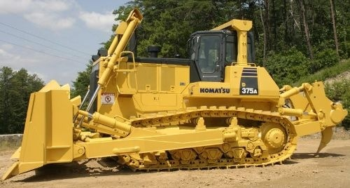 Komatsu Crawler Dozers D375A-6 60001 and up Workshop Service Manual