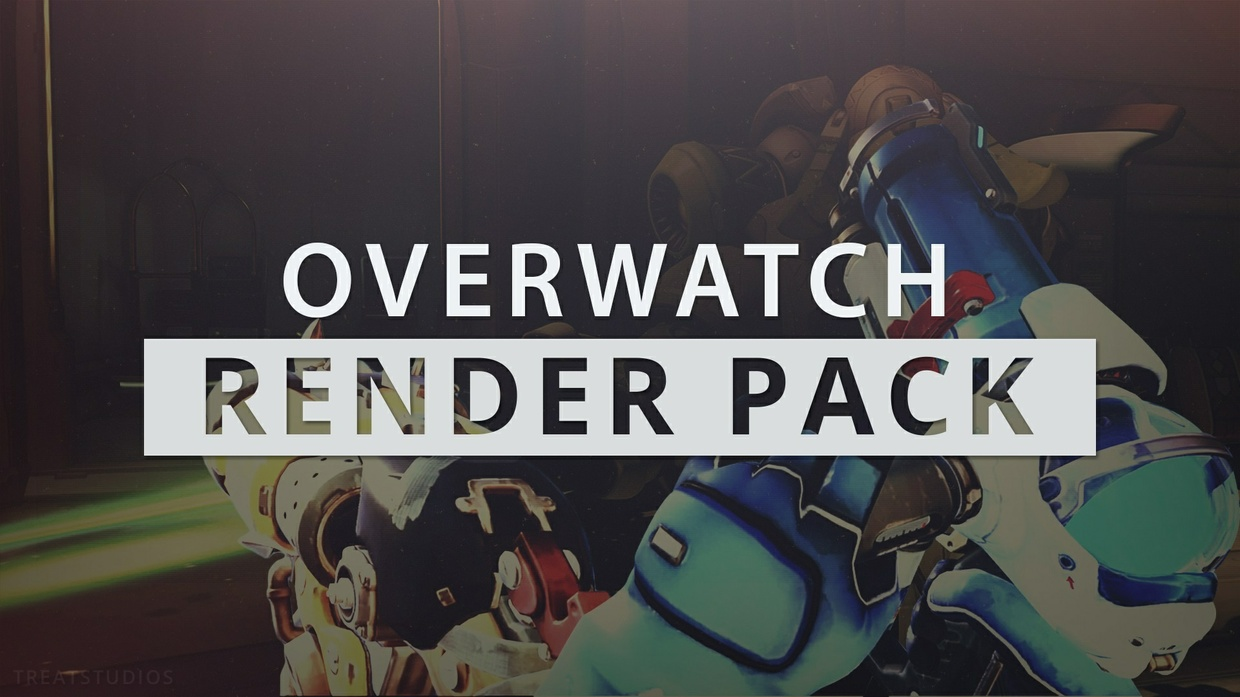 Overwatch 25 Render Pack - Includes Editable Thumbnail