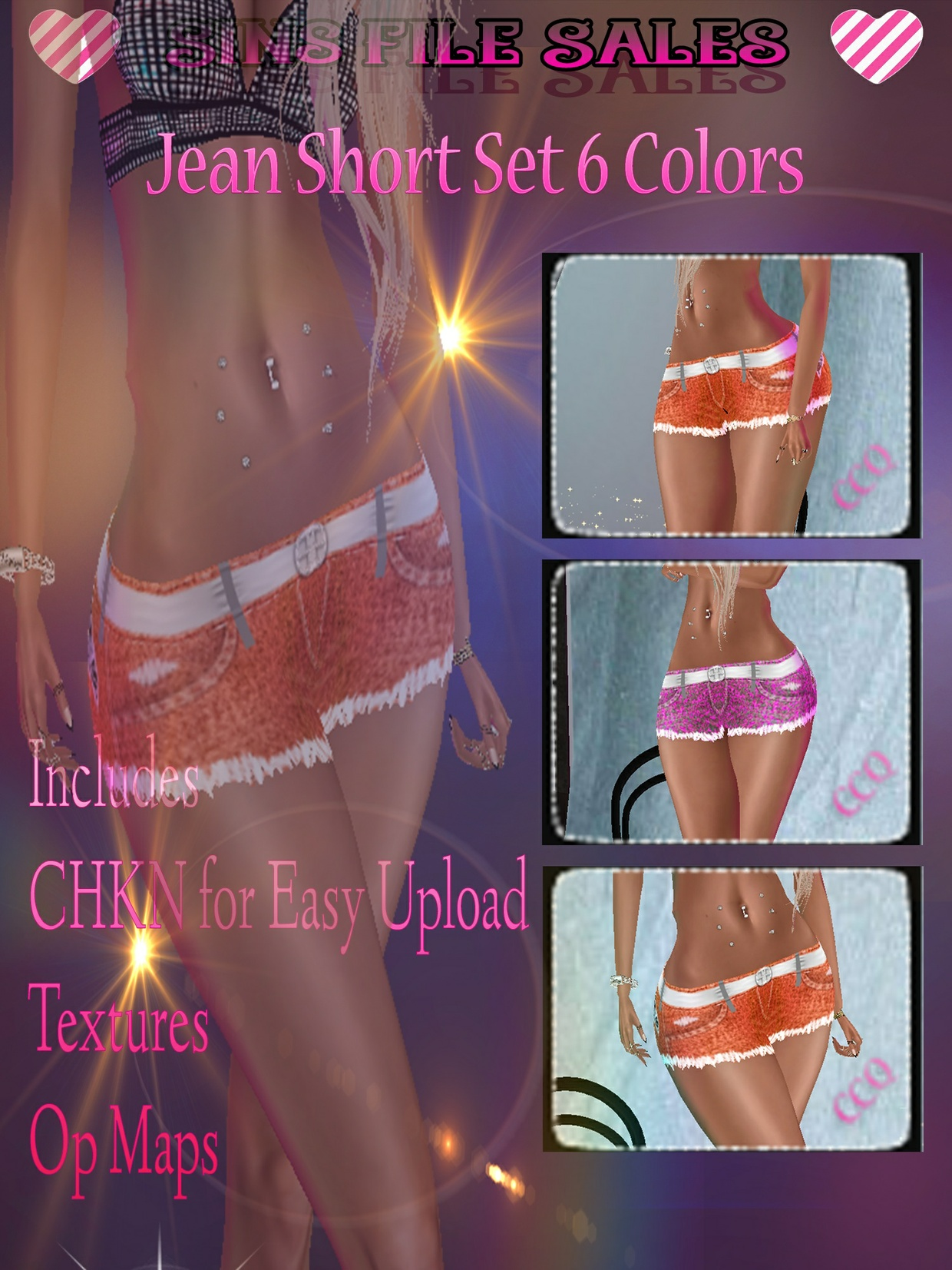 Short Set * 6 Colors + CHKN