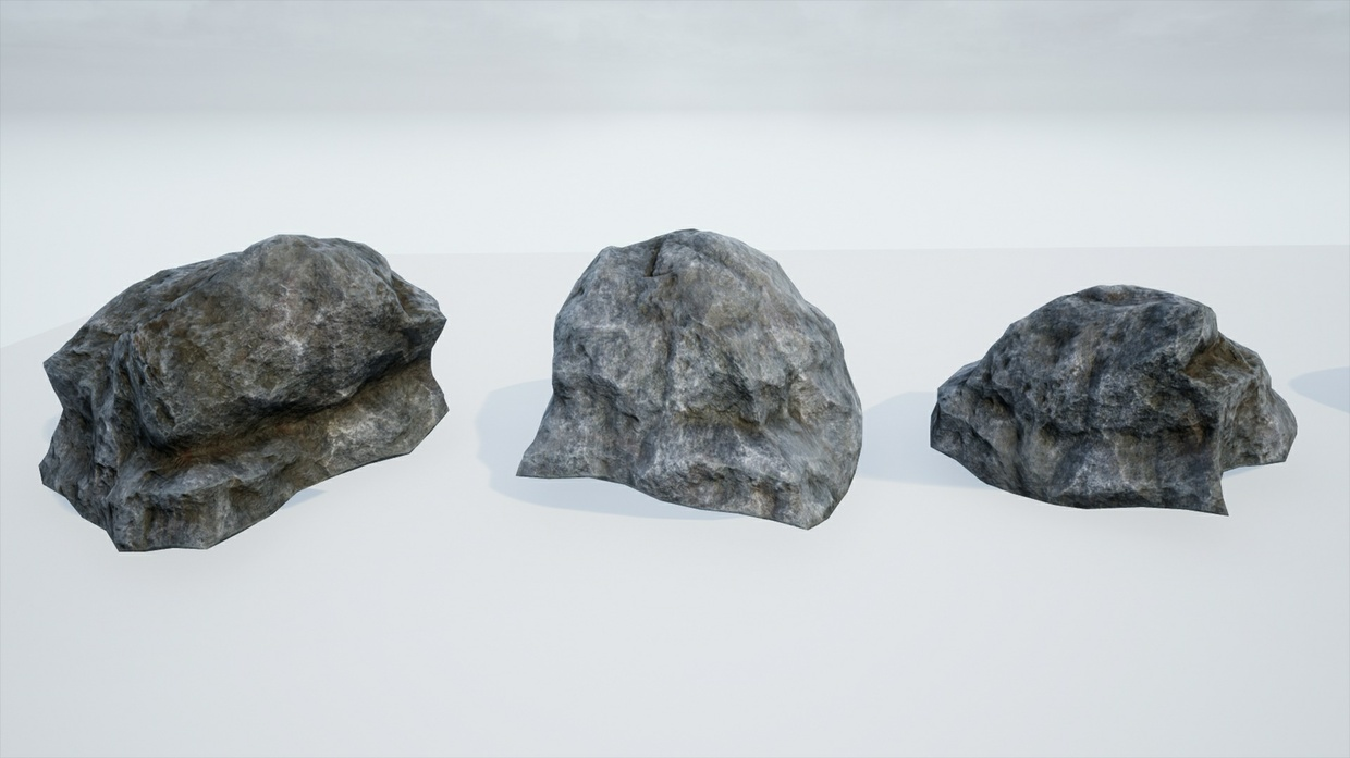 Mountain Rocks Pack - Unreal Engine 4 Asset