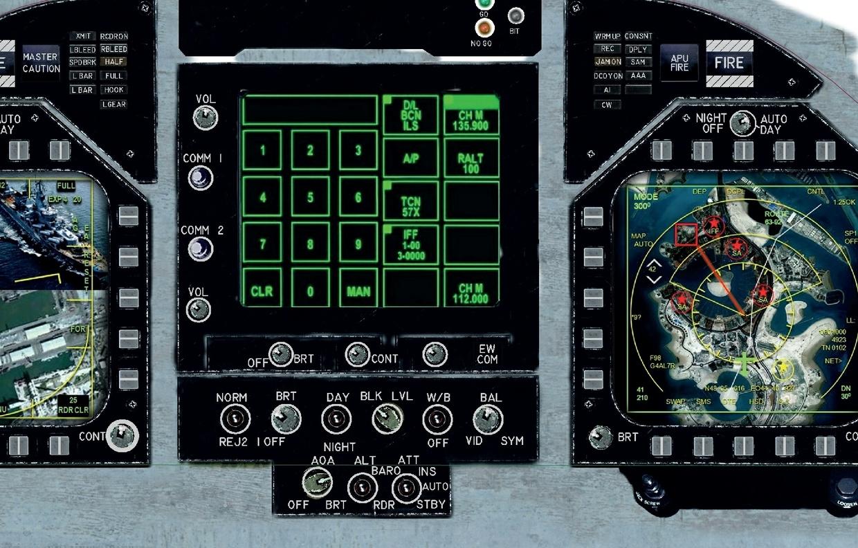 F/A-18E Panels