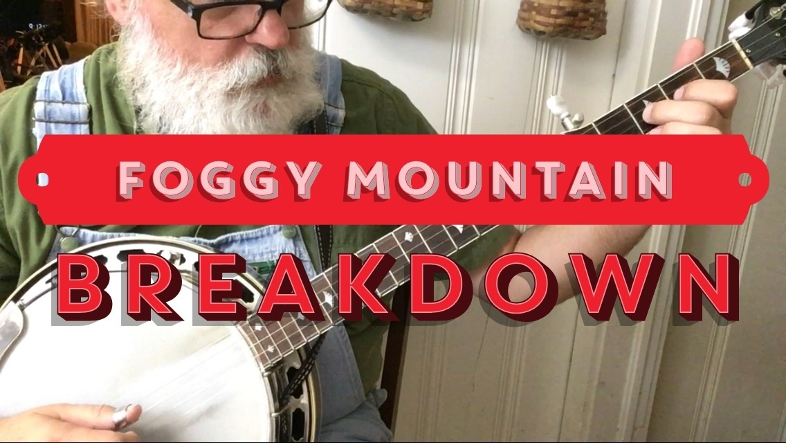 Tab for Foggy Mountain Breakdown